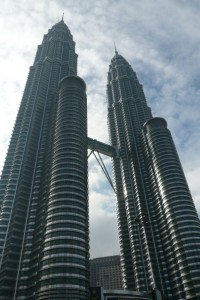 Another view on the Petronas Towers